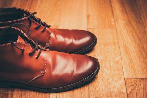 Schuhzurichtung